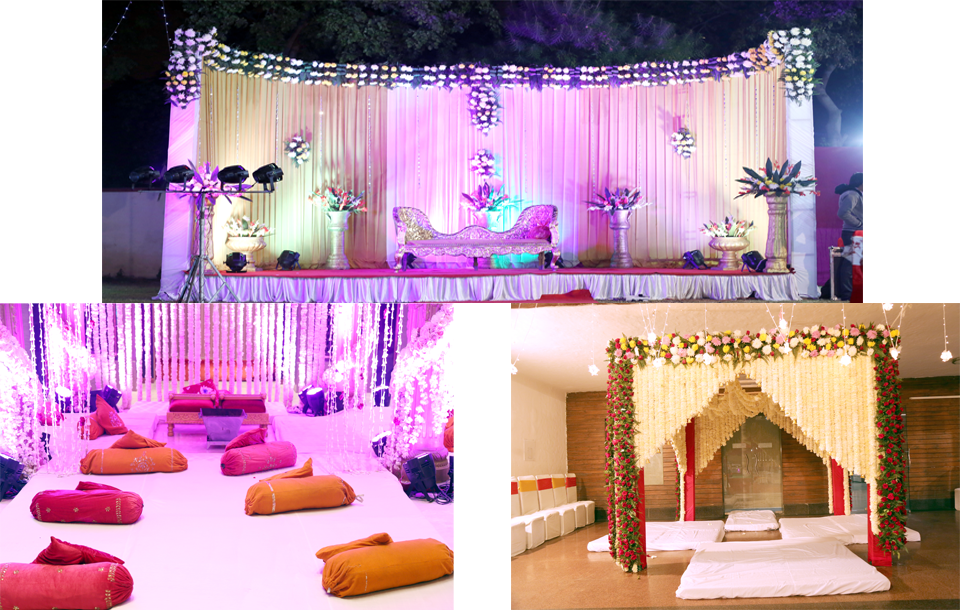A wedding is a ceremony or a knot where two people are united in a bond for the lifetime in marriage. The customs and traditions vary greatly between ... & A-One Tent House (Caterers u0026 Theme Decoratoion) - Tent House ...